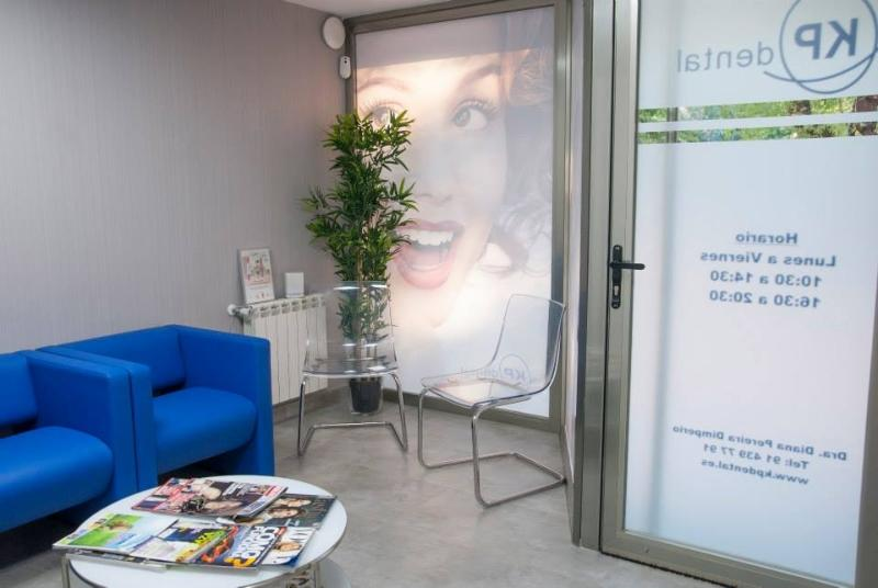Sala de espera Clínica Dental Moratalaz